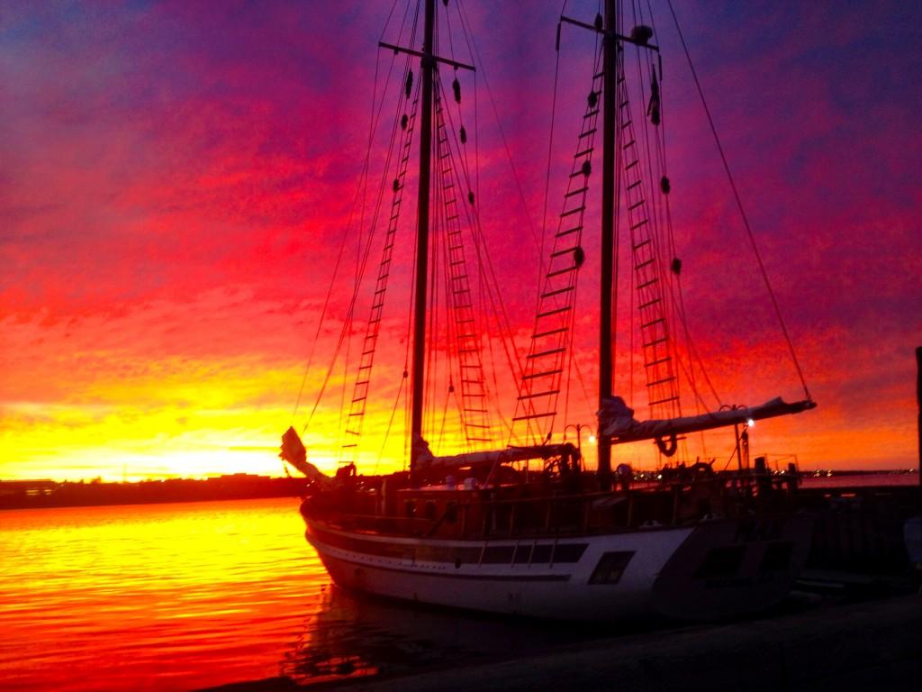 Halifax Sunrise Waterfront Laura Hawkins