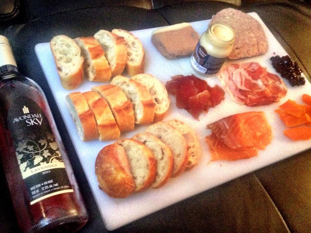 Wine Cheese Charcuterie