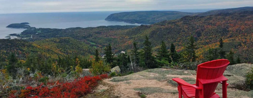 Franey Trail Look Off Cape Breton
