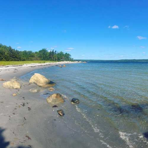 Beach-at-Thomas-Raddall-Provincial-Park