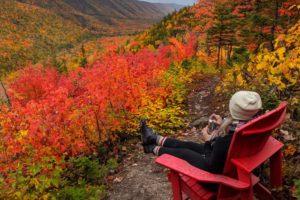 Aspy Trail Look Off Nova Scotia