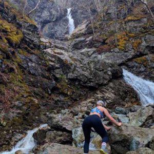 Uisge Ban Falls Cape Breton